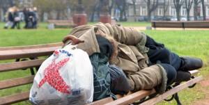 Samorząd stołeczny chce udzielić pomocy socjalnej wileńskim bezdomnym Fot. Marian Paluszkiewicz