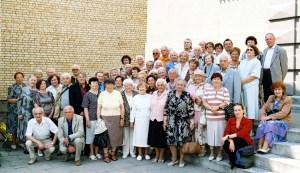 W tym roku na spotkanie przybyło ogółem ponad 60 osób Fot. Jerzy Karpowicz