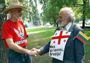 W wyniku pięciodniowej wojny z Rosją w sierpniu 2008 r. Gruzja utraciła dwie swoje prowincje w Osetii Południowej i Abchazji Fot. Marian Paluszkiewicz