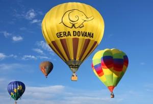 Taki prezent w postaci lotu balonem jest bardzo atrakcyjny Fot. archiwum