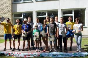 Młodzież aktywnie uczestniczyła w zawodach sportowych