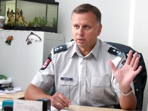 Rolandas Šepetys twierdzi, że nagrania z kamer mogą być wykorzystywane w procesach sądowych Fot. Marian Paluszkiewicz