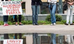 Blisko połowa mieszkańców kraju opowiada się za przywróceniem kary śmierci na Litwie Fot. Marian Paluszkiewicz