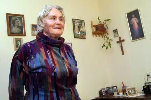 Janina Kavaliauskienė twierdzi, że człowiek powinien doskonalić się w ciągu całego życia, nie ważne, ile ma lat     Fot. Marian Paluszkiewicz