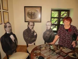 Bronisława Rutkowska zwiedziła nową muzealną ekspozycję