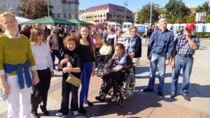 Podopieczni Centrum Dziennego Pobytu Osób Niepełnosprawnych w Niemenczynie