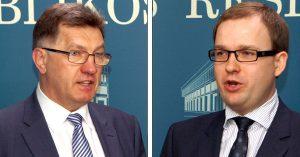 Algirdas Butkevičius i Vytautas Gapšys             Fot.  Marian Paluszkiewicz