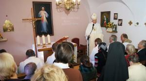 Homilia podczas Mszy św. Fot. Marian Paluszkiewicz