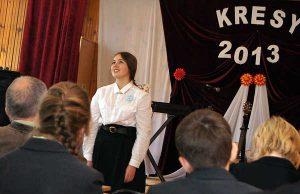"""Na """"Kresach"""" zabrzmiało wiele dobrych interpretacji wierszy<br/>Fot. Marian Paluszkiewicz"""