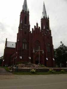 Kościół w Pelikanach<br/>Fot. Andrzej Sznajder