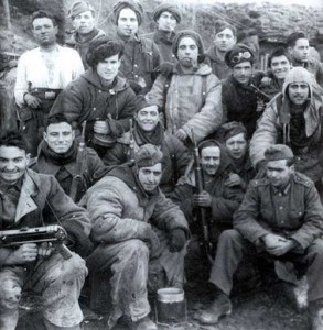 Żołnierze Błękitnej Dywizji na Froncie Wschodnim<br/>Fot. archiwum