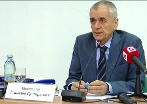 """Genadij Oniszczenko, szef """"Rospotrebnadzoru"""" Fot.archiwum"""