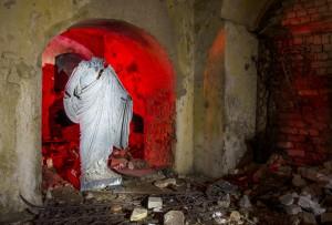 Groby były powyciągane z krypt, wokół wszystko było zniszczone Fot. Donatas Žvirblis