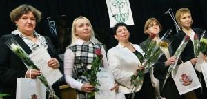 Nauczycielki języka angielskiego podczas ceremonii Fot. Marian Paluszkiewicz