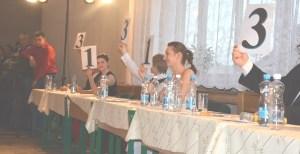 Wspaniałe występy młodych tancerzy zachwycały jury