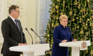 Unikanie przez Butkevičiusa i Grybauskaitė wzajemnej krytyki suponuje domniemany układ lewicy z prezydent o udrożnieniu drogi do jej zwycięstwa w przyszłorocznych wyborach prezydenckich Fot. ELTA
