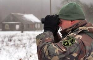 Święta dla pograniczników to przede wszystkim napięta praca, bo gdy ludzie bawią się — oni dbają o ich bezpieczeństwo i o bezpieczeństwo granicy Fot. Marian Paluszkiewicz