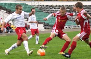 Zawodnicy drużyny czterokrotnie zdobywali pierwsze miejsce podczas Igrzysk Polonijnych        Fot. archiwum