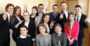 Szkoły wileńskie na olimpiadzie reprezentowało w tym roku 14 uczestników Fot. Marian Paluszkiewicz