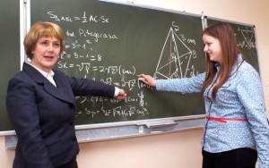 Anna Wankiewicz: matematyka jest naprawdę potrzebna  Fot. Marian Paluszkiewicz