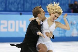 Para z Litwy — Deividas Stagniūnas i Isabella Tobias        Fot. ELTA
