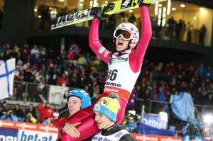 Kamil Stoch zdobył drugi złoty medal igrzysk w Soczi Fot. archiwum