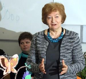 Teresa Kostkiewiczowa, honorowa przewodnicząca Komitetu Głównego Olimpiady Literatury i Języka Polskiego Fot. Marian Paluszkiewicz