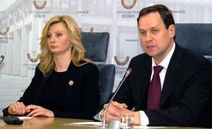 Liderzy AWPL wyrazili nadzieję, że jeszcze podczas tej sesji parlament uchwali większość propozycji programowych partii z zakresu zwrotu ziemi, czy też praw mniejszości narodowych Fot.  Marian Paluszkiewicz