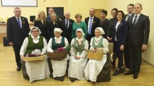 Delegacja z Niemiec miała możliwość zapoznać się z działalnością i tradycjami rejonu wileńskiego