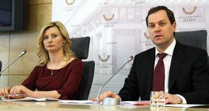 Waldemar Tomaszewski i Rita Tamašunienė Fot. Marian Paluszkiewicz