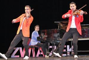 Fantastyczne młodzieżowe trio z Wiednia Fot. Marian Paluszkiewicz