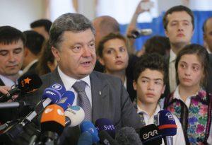 Petro Poroszenko Fot. ELTA