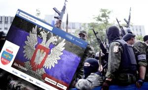 Litewscy użytkownicy serwisów społecznościowych aktywnie werbują ochotników do walki po stronie prorosyjskich separatystów Donbasu Fotomontaż Marian Paluszkiewicz