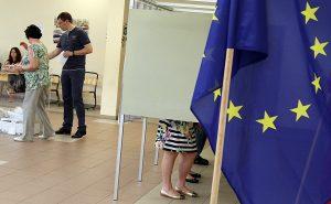 Lepiej później niż wcale — już po wyborach do Parlamentu Europejskiego w Sejmie znalazła się propozycja przyznania obcokrajowcom unijnego prawa do udziału w wyborach jako działaczy litewskich partii Fot. Marian Paluszkiewicz
