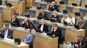 Od 2010 r. liczba naruszeń praw mniejszości narodowych na Litwie ciągle się zwiększa                                                            Fot. Marian Paluszkiewicz