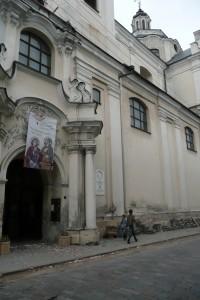 Ogólny widok kościoła od strony ulicy Fot. Justyna Giedrojć