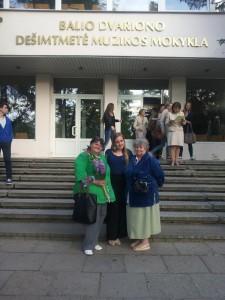 Z najmilszymi  sobie ludźmi – córką  i mamą  Fot. archiwum