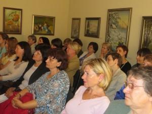 Na konferencji polonistów omówiono tegoroczne osiągnięcia Fot. Anna Pieszko