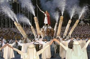 W jubileuszowym Święcie Pieśni udział weźmie 37 tysięcy uczestników</br>                                           Fot. ELTA