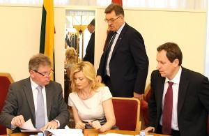 Centrolewicowa koalicja premiera Butkevičiusa zachowuje się wobec z AWPL jak zdradliwa żona – często puszcza się z opozycją, a pretensje ma do partnera    Fot. Marian Paluszkiewicz