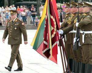 Generał-major Jonas Vytautas Žukas jest piątym z kolei dowódcą wojska niepodległej Litwy Fot. Marian Paluszkiewicz