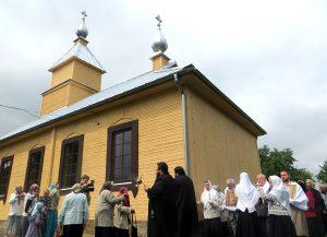 We wsi Gaj dokonano uroczystego poświęcenia odrestaurowanej cerkwi staroobrzędowej pw. św. Nikołaja Cudotwórcy Fot.Anna Pieszko
