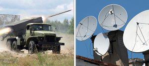Według wielu ekspertów medialnych, obok agresji wojskowej na wschodzie Ukrainy Rosja prowadzi też wojnę informacyjną, ale już na skalę światową Fotomontaż Marian Paluszkiewicz