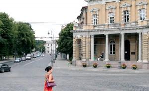 Biblioteki Litewskiej Akademii Nauk im. Wróblewskich przy ulicy Zygmuntowskiej Fot. Marian Paluszkiewicz