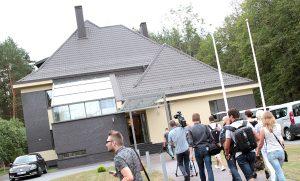 Po prawie 8 latach remontu szef rządu może wjechać do swej rezydencji Fot. Marian Paluszkiewicz