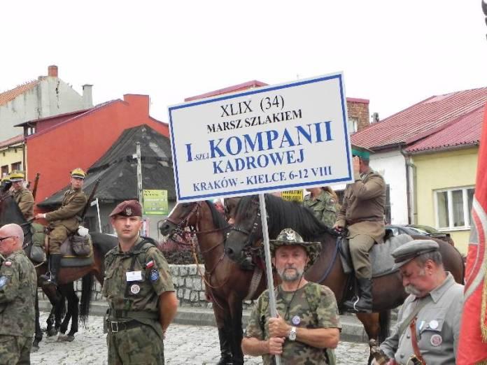 Marsz szlakiem I Kompanii Kadrowej