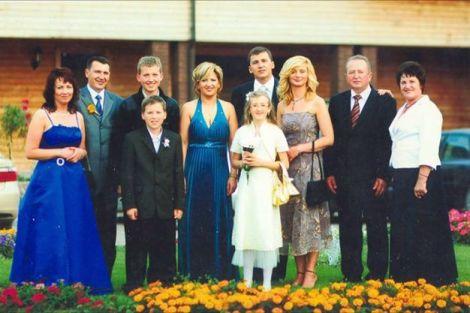 Cała rodzina w komplecie. Zdjęcie sprzed pięciu laty