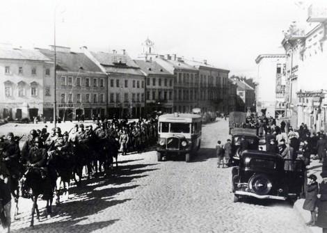 75 lat temu wojska sowieckie wkroczyły do Wilna Fot. archiwum