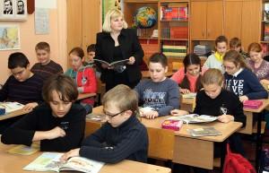 Nauczyciele lituaniści zgodnie stwierdzają, że nauczanie przedmiotu już w klasach początkowych przypomina bieg z przeszkodami Fot. Marian Paluszkiewicz