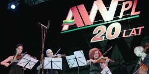 Wydarzenie uświetnił występ kwartetu smyczkowego Fot. Marian Paluszkiewicz